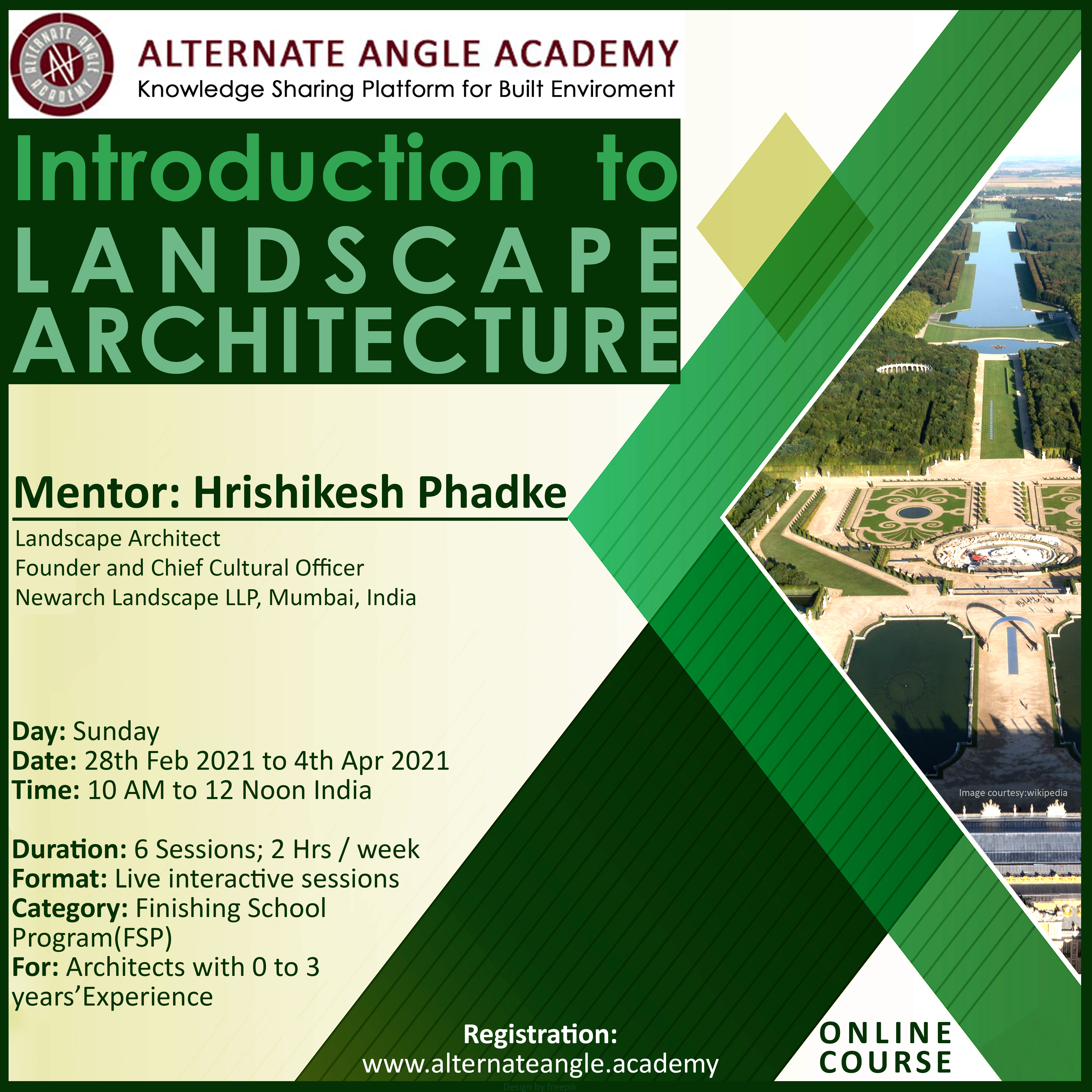 FSP02 - Introduction to Landscape Architecture